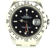 Rolex Explorer II black dial 40mm