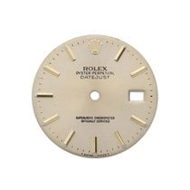 Rolex Mens 2 Tone Oyster Perpertual Datejust With Gold Face...