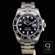 Rolex Submariner Date Stainless Steel 40mm Ceramic Black Kit