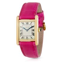 Cartier Tank Women's Manual Winding Watch in 18K Yellow Gold