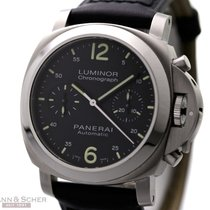 Panerai Luminor Chronograph PAM310 Stainless Steel Box Papers...