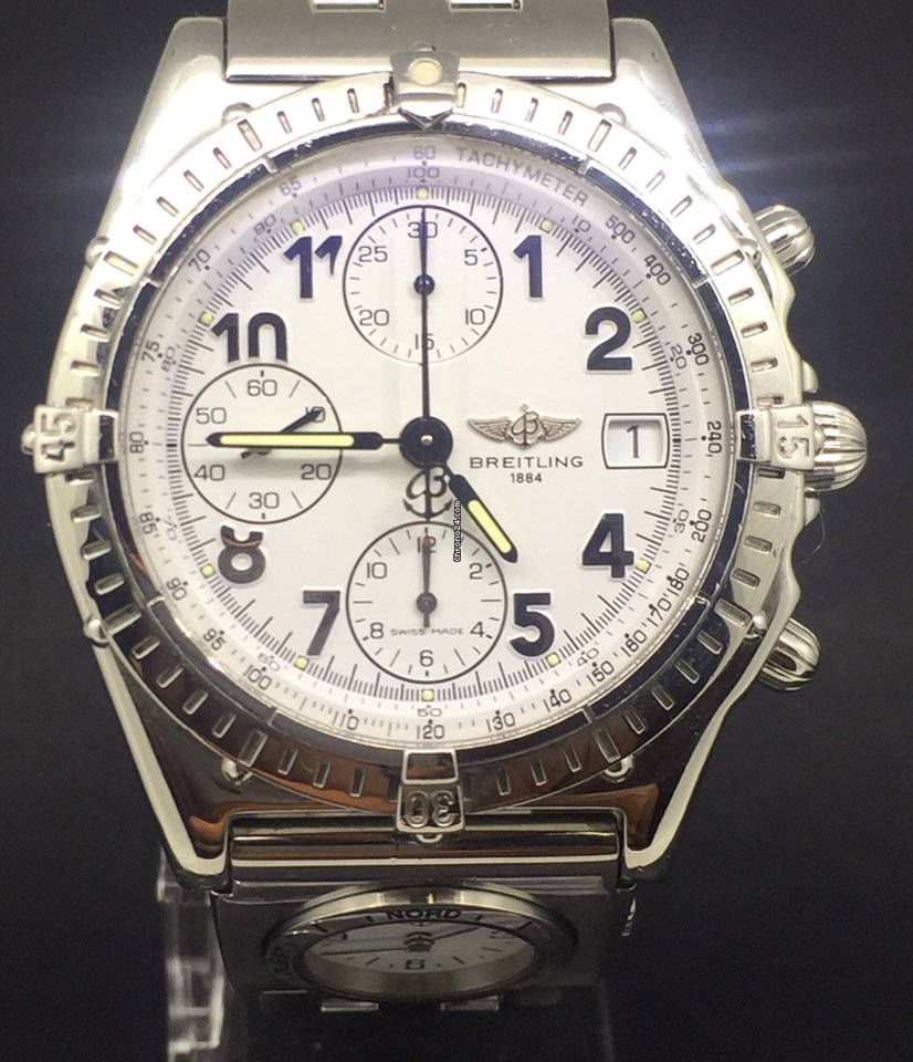 Breitling Chronomat 39MM Steel  UTC  Chronograph e9609318e8