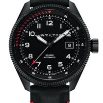 Hamilton Khaki Aviation Takeoff Air Zermatt H76695733