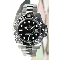 Rolex GMT Master II 116710 Stainless Steel Black Face Ceramic...