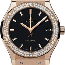 Hublot Classic Fusion King Gold Diamonds