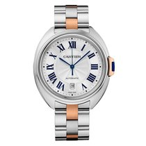 Cartier Cle De Cartier Automatic 40mm Midsize W2CL0002  Two Tone