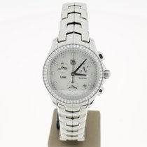 TAG Heuer Link Chronograph Steel Original DiamondSetting ...