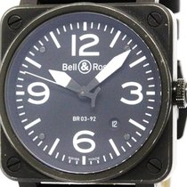 Bell & Ross Aviation Steel Automatic Mens Watch Br03-92...