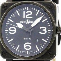 ベルアンドロス (Bell & Ross) Aviation Steel Automatic Mens Watch...