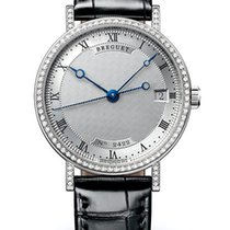 Breguet Brequet Classique 9068 18K White Gold Ladies Watch