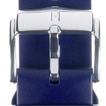 Hirsch Uhrenarmband Kautschuk Pure L blau 40538880-2-22 22mm