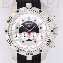 Eberhard & Co. Chrono 4 Geant Edelstahl Black dial...