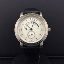 Maurice Lacroix Masterpiece 38mm Steel Silver Roman Dial Power...