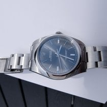 Rolex Oyster Perpetual Dark Rhodium 39mm