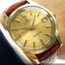 Omega 35mm gold plated Omega Seamaster Automatik Automatic Date