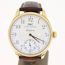 IWC Portuguese F.A Jones (B&P2005) LIMITED 18KRose 43mm MINT