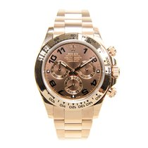 Rolex Daytona 18k Rose Gold Brown Automatic 116505BR