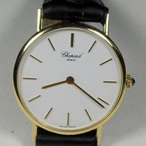 Chopard 1091 - 18K Solid Gold - White Dial - Slim Case -...