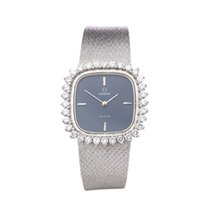 Omega De Ville Diamonds 18k White Gold Ladies - COM191