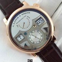 A. Lange & Söhne Zeitwerk Striking Time Rose Gold Silver Dial