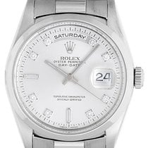 Rolex Platinum President Day-Date Men's Watch 18206