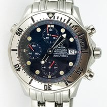 Omega Seamaster Diver Chrono 300m Blue Waved Dial 2598.80