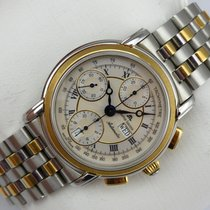 Maurice Lacroix Croneo Chronograph - Stahl/Gold 18K - Stahlban...