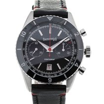 Eberhard & Co. Contograf 42 Chronograph Steel Black Dial