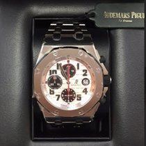 Audemars Piguet AP Royal Oak Offshore Chrono Panda 26170ST /...