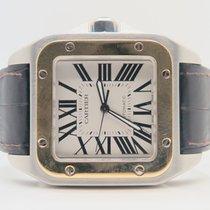 Cartier Santos 100 XL 38mm 18k Gold Steel Ref. 2656