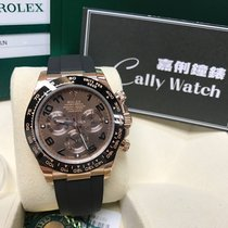 Rolex Cally - 2017 NEW Daytona 116515LN- RUBBER Brown Dial 膠帶朱古力面