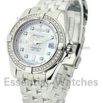 Breitling A71356LA-A708-367A Galactic 32 Quartz in Steel with...