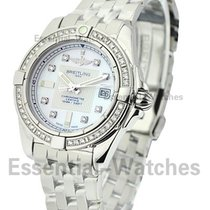 Breitling A71356LA/A708 Galactic 32 Quartz in Steel with...