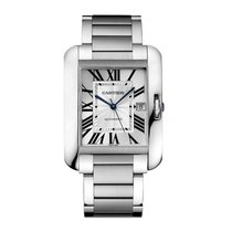 Cartier Tank Anglaise Automatic Mens Watch Ref W5310008