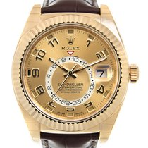 勞力士 (Rolex) Sky-dweller 18 K Yellow Gold Gold Automatic 326138CH