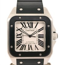 Cartier Santos 100 XL Rubber&Steel