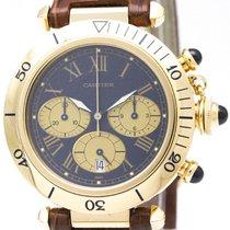 까르띠에 (Cartier) Pasha 38 Chronograph 18k Gold Mens Watch...