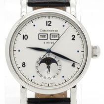 Chronoswiss Sirius Triple Date Ch9343 Automatic Steel Silver...
