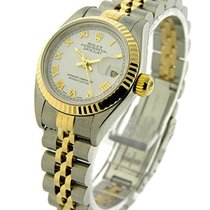Rolex Used 79173_used_white_roman Ladys 2-Tone DATEJUST with...