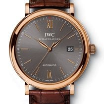 IWC PORTOFINO AUTOMATIC 40MM 18K RED GOLD IW 356511 T