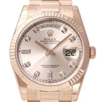 Rolex Day-Date 36 18 kt Everose-Gold 118235 Pink DIA