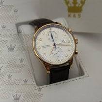 萬國 (IWC) IW371480 Portuguisher  Chronograph Rose Gold