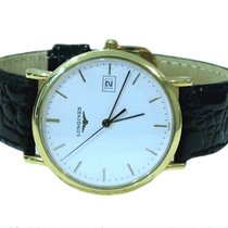 Longines Presence 18K Yellow Gold Unisex Watch