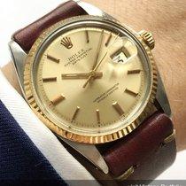 Rolex Serviced Rolex Datejust 1601 with vintage strap