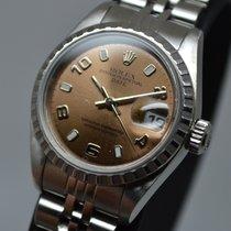 Rolex Datejust 26mm Date Pink Salmon Lady Steel EU Full Set