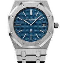 Audemars Piguet Royal Oak Extra-thin Stainless Steel Men's...