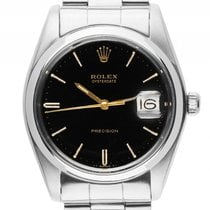 Rolex Oysterdate Precision Stahl Handaufzug Armband Oyster...