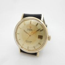 Omega 14K Yellow Gold Cal 563 Seamaster DE VILLE 34mm Wrist Watch
