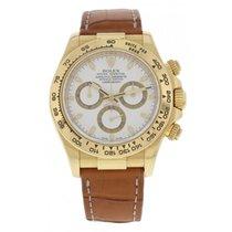Rolex Daytona  Sant Blanc 116518 18k Yellow Gold