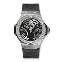 Hublot Big Bang Black Jaguar White Tiger Foundation Steel 44mm...